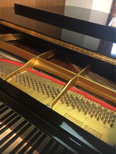 グランドピアノで練習するとき