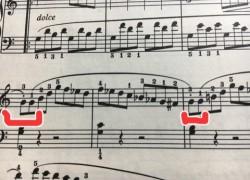 ソナチネ4番 1楽章