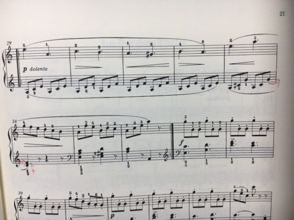 ブルグミュラー25の練習曲 9番 狩