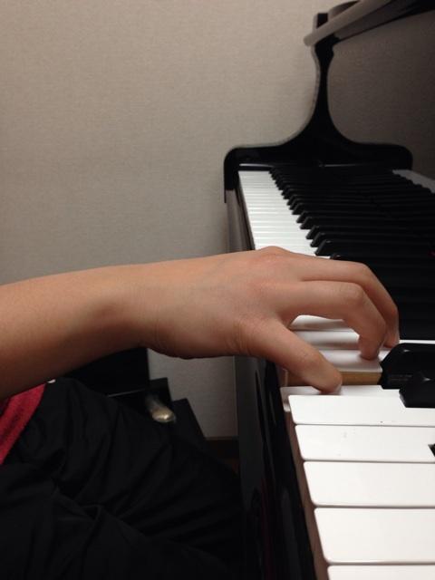手首の位置